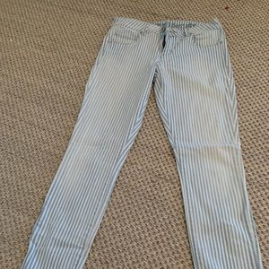 Articles of society 27 skinny jeans blue stripes